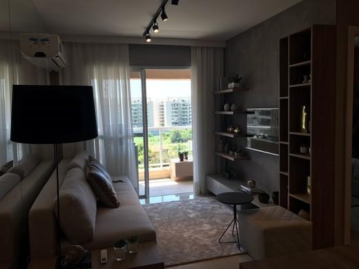 Living - Fachada - Luar do Pontal Residencial - 205 - 3