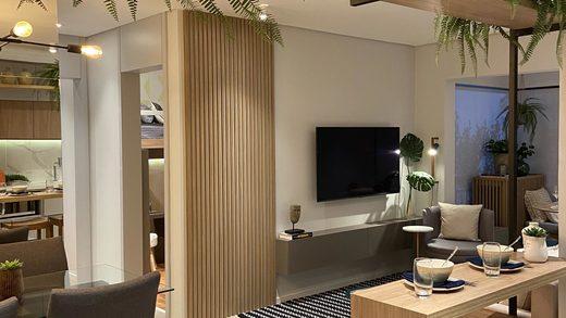 Living - Apartamento à venda Rua Camargo,Butantã, Zona Oeste,São Paulo - R$ 707.200 - II-14644-24632 - 8