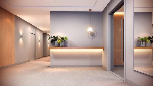 Hall - Apartamento à venda Rua Camargo,Butantã, Zona Oeste,São Paulo - R$ 707.200 - II-14644-24632 - 4