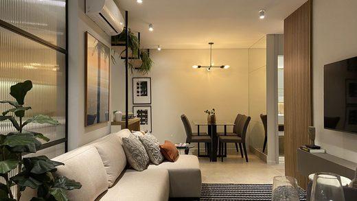 Living - Apartamento à venda Rua Camargo,Butantã, Zona Oeste,São Paulo - R$ 707.200 - II-14644-24632 - 7