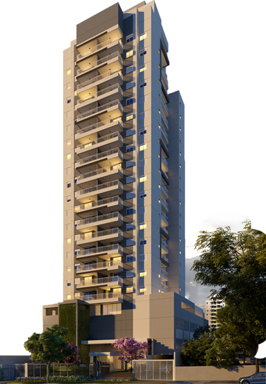Fachada - Apartamento à venda Rua Camargo,Butantã, Zona Oeste,São Paulo - R$ 707.200 - II-14644-24632 - 1