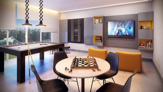Sala de jogos - Apartamento à venda Rua Camargo,Butantã, Zona Oeste,São Paulo - R$ 707.200 - II-14644-24632 - 11