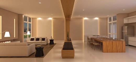Lounge - Fachada - Galeria Family Club - Fase 2 - 932 - 8