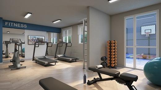Fitness - Apartamento 2 quartos à venda Jardim da Saúde, São Paulo - R$ 164.900 - II-17904-29740 - 5