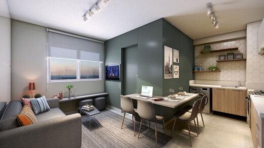 Living - Apartamento 2 quartos à venda Jardim da Saúde, São Paulo - R$ 164.900 - II-17904-29740 - 4