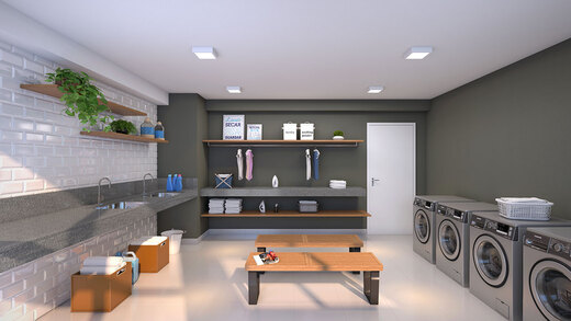 Lavanderia - Apartamento 2 quartos à venda Jardim da Saúde, São Paulo - R$ 164.900 - II-17904-29740 - 8