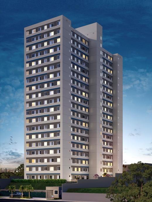Fachada - Apartamento 2 quartos à venda Jardim da Saúde, São Paulo - R$ 164.900 - II-17904-29740 - 1