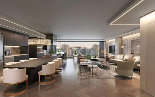 Living - Apartamento à venda Rua França Pinto,Vila Mariana, São Paulo - R$ 4.026.000 - II-17919-29765 - 4