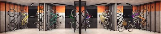 Bicicletario - Fachada - Viva Benx Nações Unidas II - 914 - 11