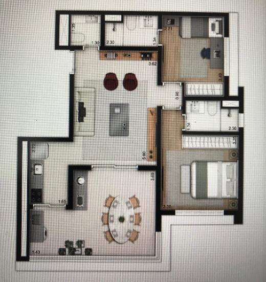 Fachada - Arquitetura Vila Mariana Apto AP4237RETF - 1008 - 2