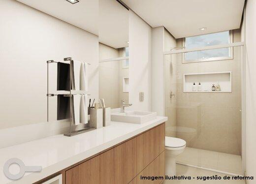 Banheiro - Apartamento à venda Rua Maria Figueiredo,Paraíso, Zona Sul,São Paulo - R$ 1.323.000 - II-18075-30037 - 3