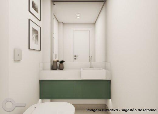 Banheiro - Apartamento à venda Rua Maria Figueiredo,Paraíso, Zona Sul,São Paulo - R$ 1.323.000 - II-18075-30037 - 5