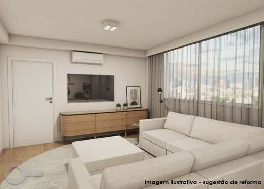 Living - Apartamento à venda Rua Maria Figueiredo,Paraíso, Zona Sul,São Paulo - R$ 1.323.000 - II-18075-30037 - 8