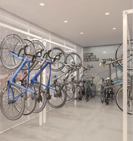 Bicicletario - Apartamento 4 quartos à venda Botafogo, Rio de Janeiro - R$ 2.293.200 - II-18114-30086 - 15