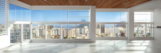 Living - Apartamento 4 quartos à venda Botafogo, Rio de Janeiro - R$ 2.293.200 - II-18114-30086 - 4
