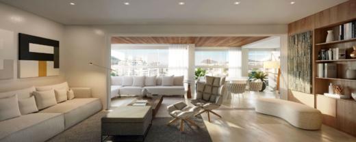 Living - Apartamento 4 quartos à venda Botafogo, Rio de Janeiro - R$ 2.269.000 - II-18114-30086 - 6