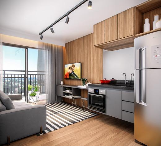 Living - Fachada - Panoramico Smart - 923 - 3