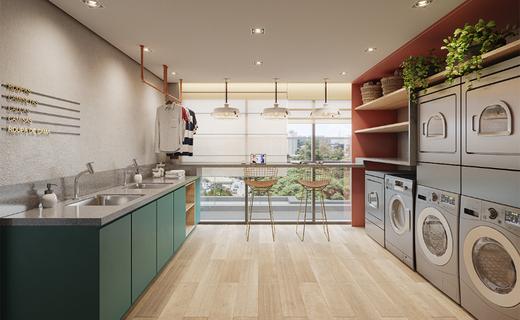 Lavanderia - Apartamento à venda Alameda dos Maracatins,Moema, São Paulo - R$ 670.546 - II-18230-30309 - 21