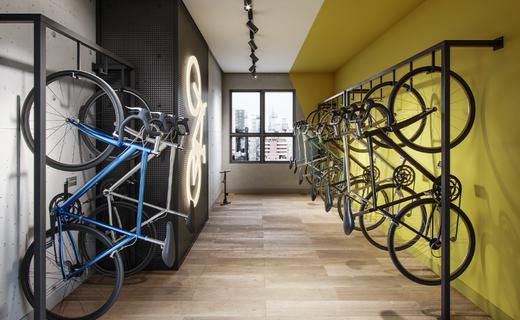 Bicicletario - Apartamento à venda Alameda dos Maracatins,Moema, São Paulo - R$ 670.546 - II-18230-30309 - 23