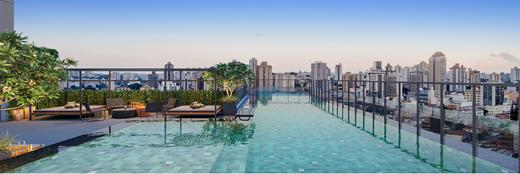 Piscina - Apartamento à venda Alameda dos Maracatins,Moema, São Paulo - R$ 670.546 - II-18230-30309 - 27