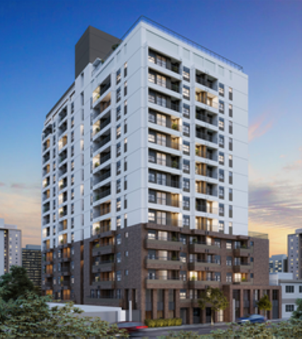 Fachada - Apartamento à venda Alameda dos Maracatins,Moema, São Paulo - R$ 670.546 - II-18230-30309 - 1