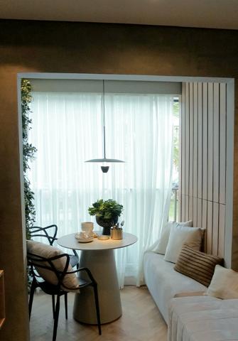 Living - Apartamento à venda Alameda dos Maracatins,Moema, São Paulo - R$ 670.546 - II-18230-30309 - 6