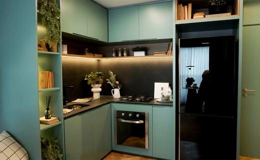 Cozinha - Apartamento à venda Alameda dos Maracatins,Moema, São Paulo - R$ 670.546 - II-18230-30309 - 8