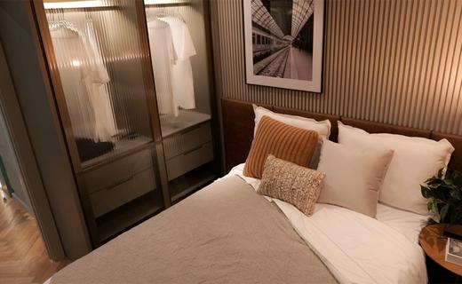 Dormitorio - Apartamento à venda Alameda dos Maracatins,Moema, São Paulo - R$ 670.546 - II-18230-30309 - 10