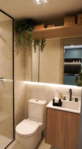 Banheiro - Apartamento à venda Alameda dos Maracatins,Moema, São Paulo - R$ 670.546 - II-18230-30309 - 12