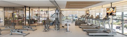 Fitness - Apartamento à venda Alameda dos Maracatins,Moema, São Paulo - R$ 670.546 - II-18230-30309 - 14