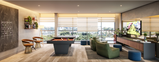 Sala de jogos - Apartamento à venda Alameda dos Maracatins,Moema, São Paulo - R$ 670.546 - II-18230-30309 - 17