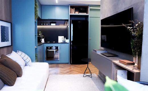 Living - Apartamento à venda Alameda dos Maracatins,Moema, São Paulo - R$ 670.546 - II-18230-30309 - 7