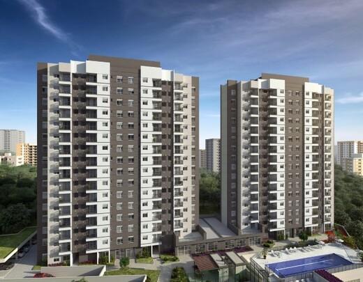 Fachada - Apartamento à venda Rua Carvalho de Freitas,Vila Andrade, São Paulo - R$ 363.400 - II-18352-30546 - 1