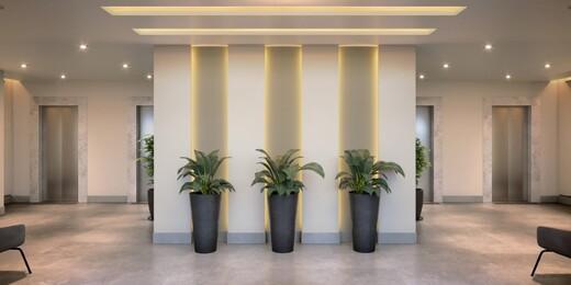 Hall - Apartamento à venda Rua Carvalho de Freitas,Vila Andrade, São Paulo - R$ 363.400 - II-18352-30546 - 4