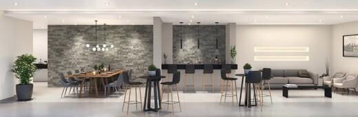Salao de festas - Apartamento à venda Rua Carvalho de Freitas,Vila Andrade, São Paulo - R$ 363.400 - II-18352-30546 - 8