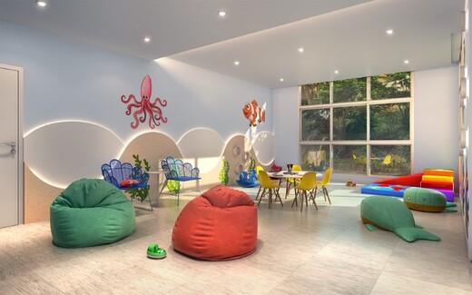 Brinquedoteca - Apartamento à venda Rua Carvalho de Freitas,Vila Andrade, São Paulo - R$ 363.400 - II-18352-30546 - 9