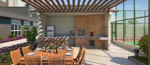 Churrasqueira - Apartamento à venda Rua Carvalho de Freitas,Vila Andrade, São Paulo - R$ 363.400 - II-18352-30546 - 11