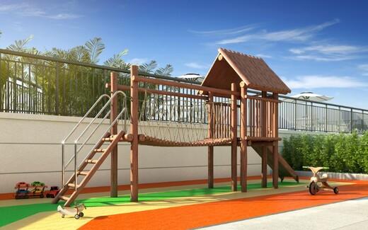 Playground - Apartamento à venda Rua Carvalho de Freitas,Vila Andrade, São Paulo - R$ 363.400 - II-18352-30546 - 13