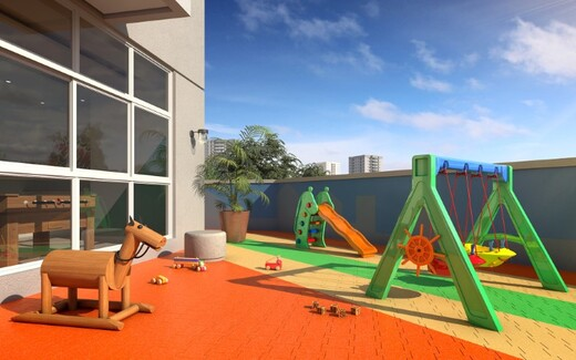 Playground - Apartamento à venda Rua Carvalho de Freitas,Vila Andrade, São Paulo - R$ 363.400 - II-18352-30546 - 14