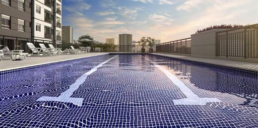 Piscina - Apartamento à venda Rua Carvalho de Freitas,Vila Andrade, São Paulo - R$ 363.400 - II-18352-30546 - 15