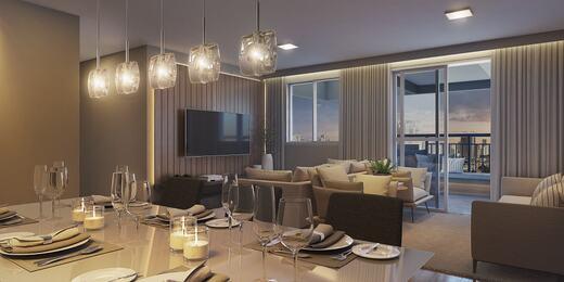 Living - Apartamento à venda Rua Celso Ramos,Morumbi, São Paulo - R$ 587.600 - II-18406-30634 - 4