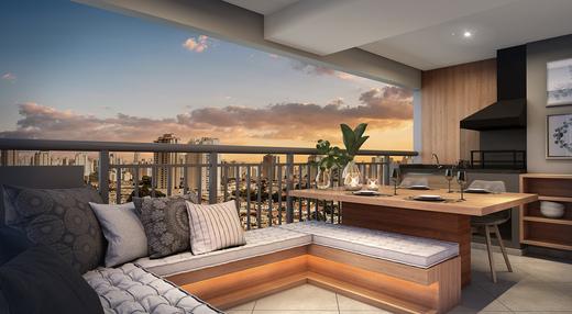 Terraco - Apartamento à venda Rua Celso Ramos,Morumbi, São Paulo - R$ 587.600 - II-18406-30634 - 5