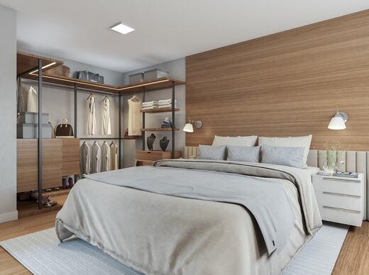 Dormitorio - Apartamento à venda Rua Celso Ramos,Morumbi, São Paulo - R$ 587.600 - II-18406-30634 - 6