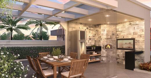 Churrasqueira - Apartamento à venda Rua Celso Ramos,Morumbi, São Paulo - R$ 587.600 - II-18406-30634 - 10
