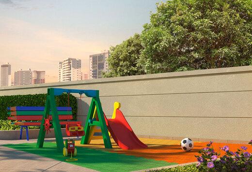 Playground - Apartamento à venda Rua Celso Ramos,Morumbi, São Paulo - R$ 587.600 - II-18406-30634 - 14