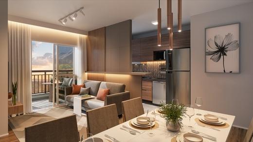 Living - Apartamento à venda Rua Nicola Rollo,Morumbi, São Paulo - R$ 583.500 - II-18404-30630 - 5