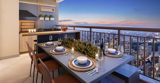 Terraco - Apartamento à venda Rua Nicola Rollo,Morumbi, São Paulo - R$ 583.500 - II-18404-30630 - 7