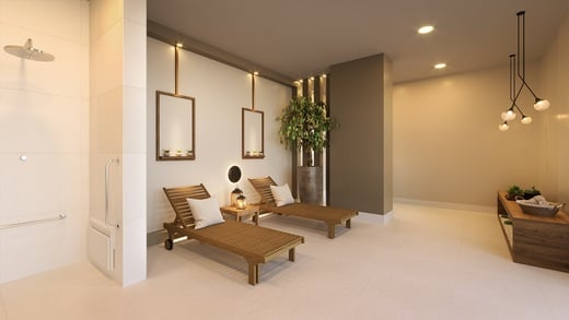 Sauna - Apartamento à venda Rua Nicola Rollo,Morumbi, São Paulo - R$ 583.500 - II-18404-30630 - 13