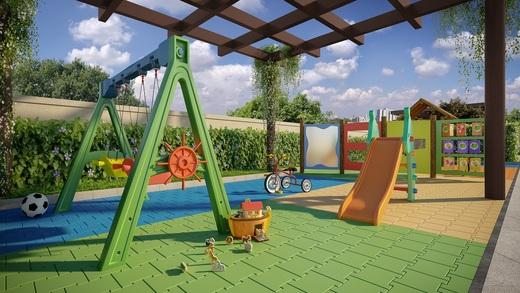 Playground - Apartamento à venda Rua Nicola Rollo,Morumbi, São Paulo - R$ 583.500 - II-18404-30630 - 17