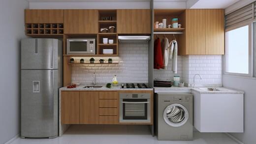 Cozinha - Fachada - Potiguara - 1015 - 6